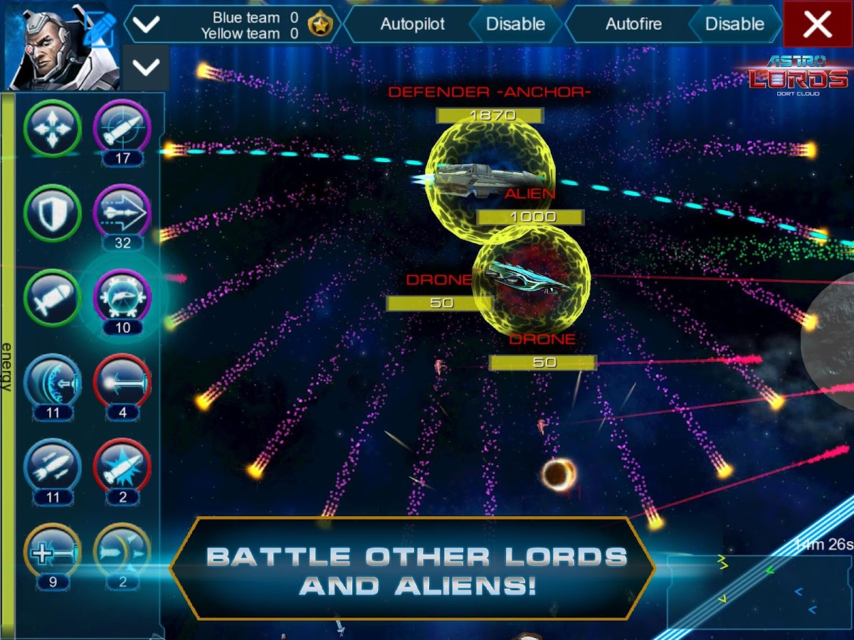 Astro Lords: Oort Cloud- screenshot