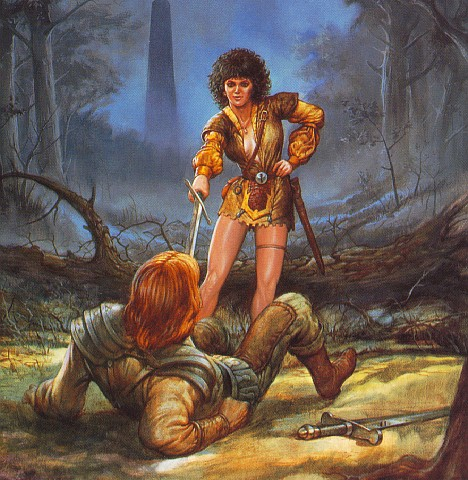 Young Knight Look, Magick Warriors 3