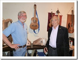 Ron and Charles at Guitar Show-72