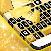 Gold Neon Pour GO Keyboard
