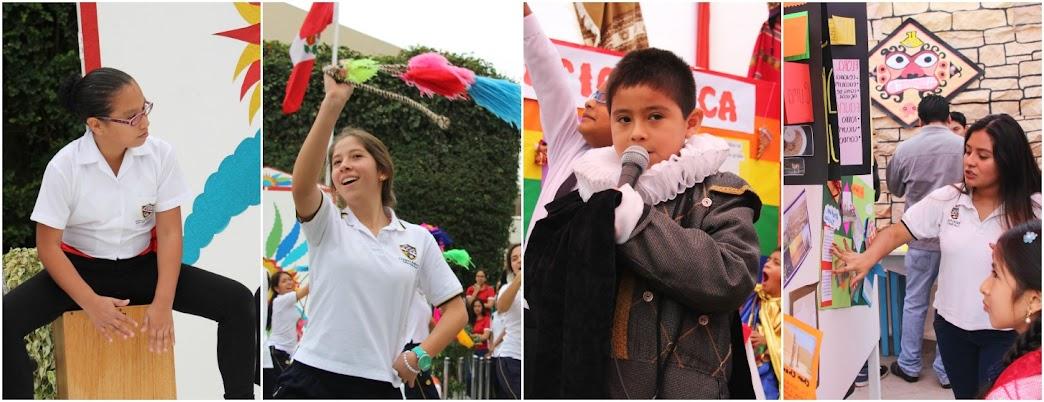 FERIA REGIONAL 2015: PADRES DE FAMILIA SE HICIERON PRESENTES EN EL DÍA DEL LOGRO