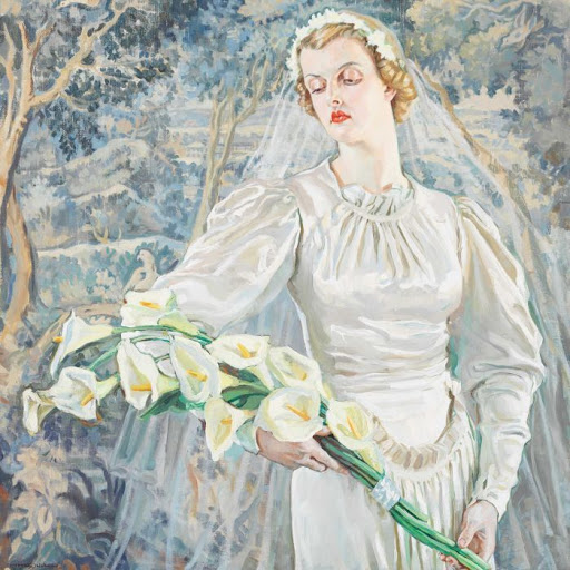Our June inspiration comes to you from Hilda Rix Nicholas with The Bride