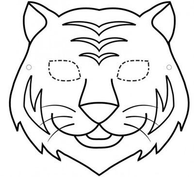 mascara de animales  para colorar (129)_thumb
