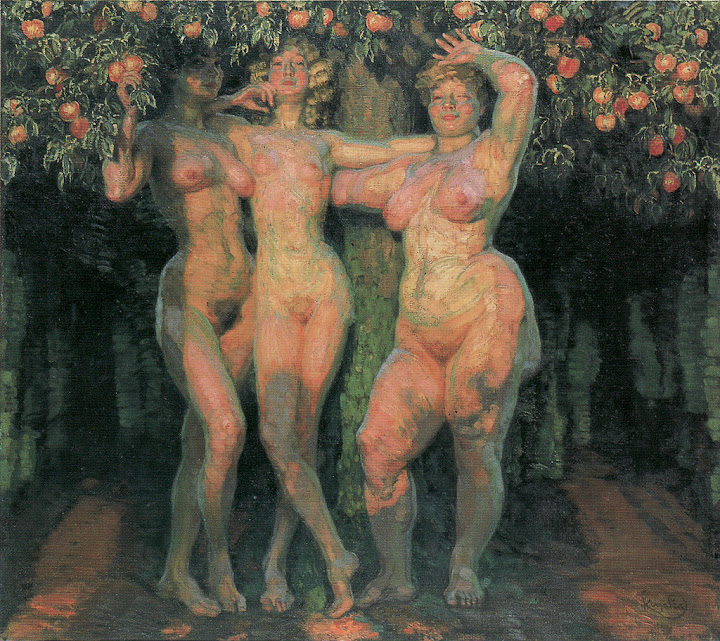 František Kupka - Autumn Sun, Three Goddesses
