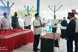 PJ Kepala Desa Temenggungan Secara Resmi Melantik Samsul Arifin Sebagai Sekdes Yang Baru.