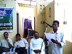 R.Raajkumar giving the vote of thanks :: Date: May 14, 2007, 11:12 AMNumber of Comments on Photo:0View Photo