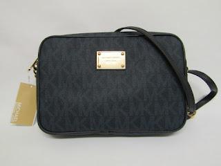 Michael Kors Monogrammed Cross-Body Bag