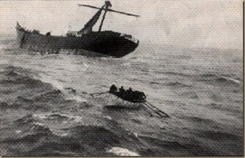 Pinnas - rescue by crew of Alfonso