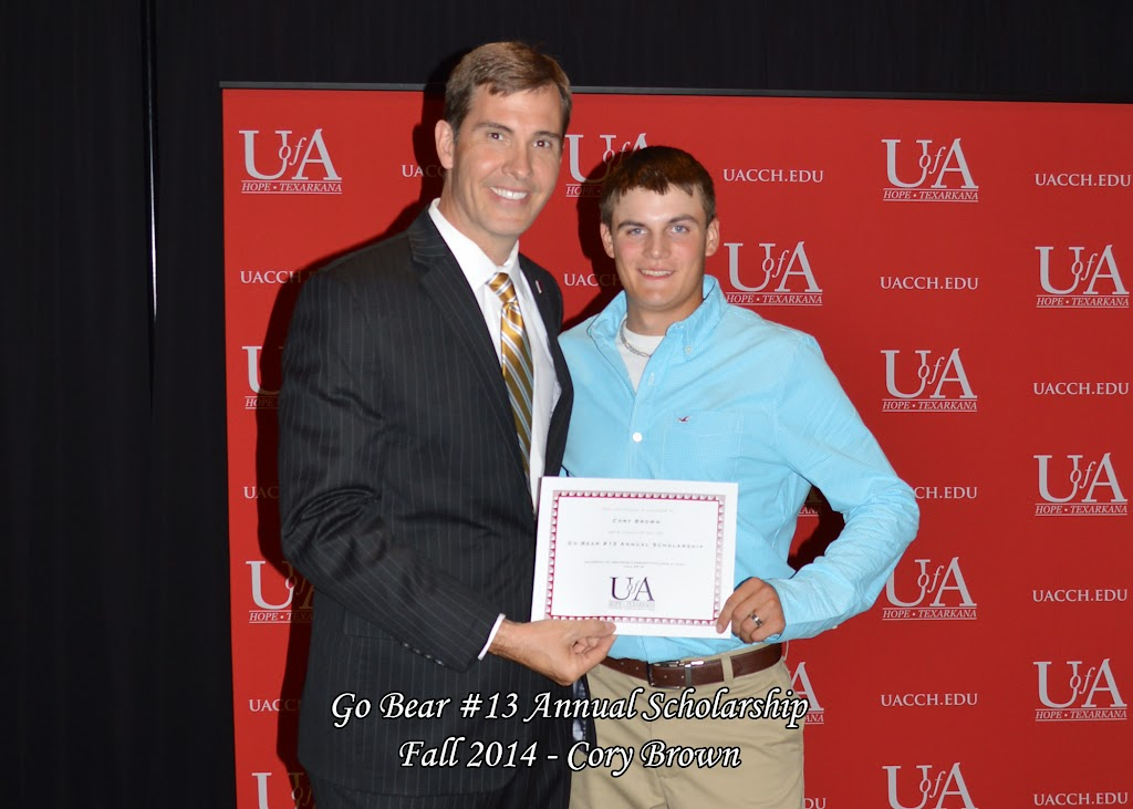 Scholarship Awards Ceremony Fall 2014 - Cory%2BBrown%2BGo%2BBear.jpg