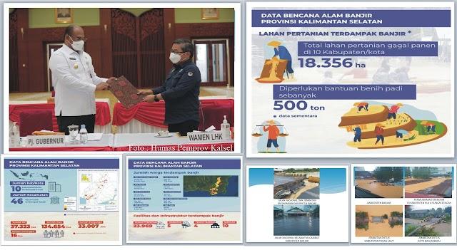 Bantuan Rp75 Miliar untuk Penanganan Banjir di Kalsel