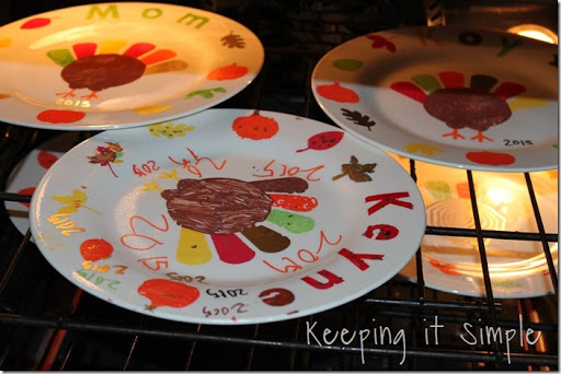 DIY-Thanksgiving-Dinner-Plates Kids Craft (10) & Thanksgiving Family Tradition- DIY Personalized Thanksgiving Dinner ...