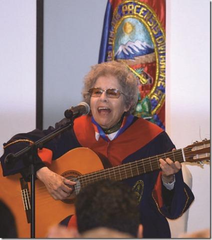 Matilde Casazola es Doctor Honoris Causa de la UMSA