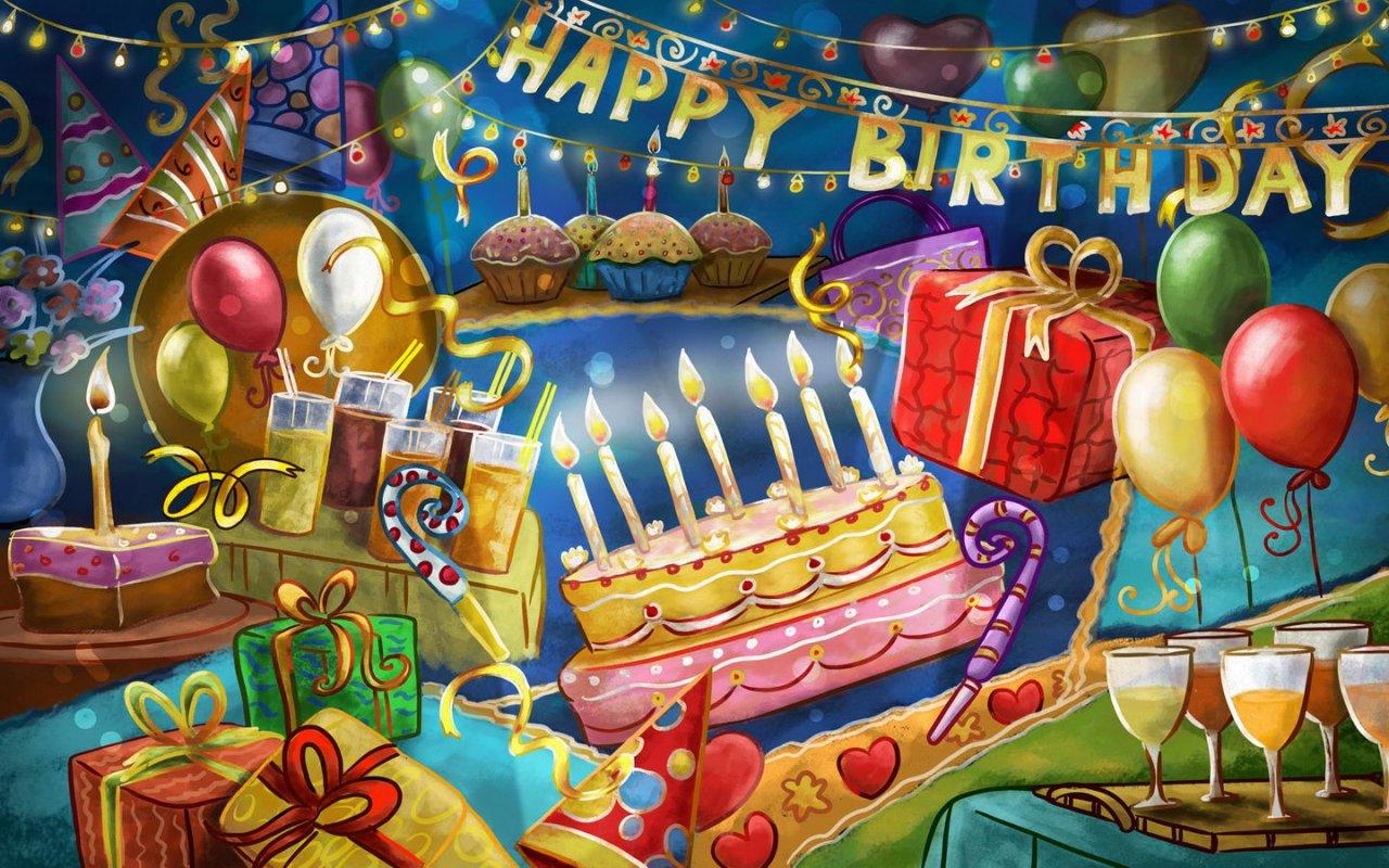 wallpaper gefeliciteerd Gratis Wallpapers Verjaardag   ARCHIDEV wallpaper gefeliciteerd