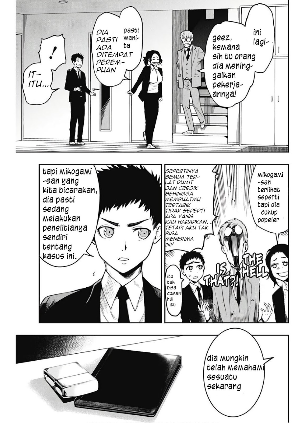 Baca Manga MOMO: The Blood Taker Chapter 4 Komik Station