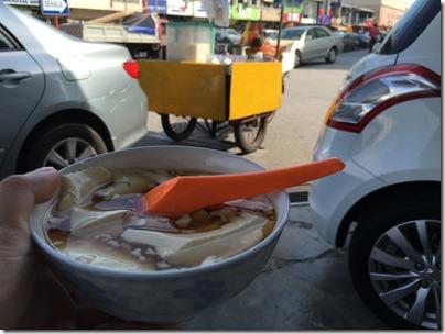 Hot Taufu-Fah at Ong Kim Wee Road