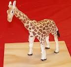 Clay Sculpture - Giraffe by Abby