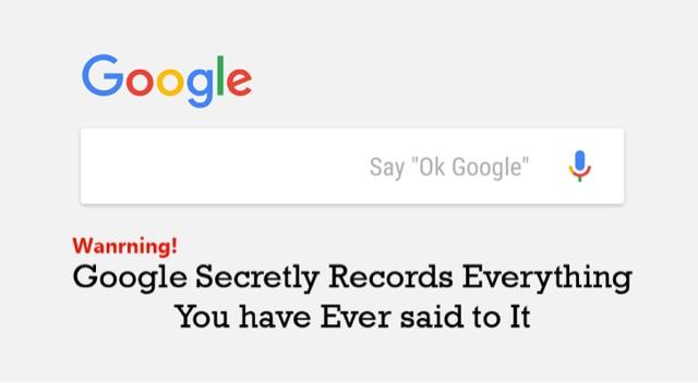 Coding addict google secara diam diam merekam suara apapun yang telah anda ucapkan mau tahu bagaimana cara mendengarnya atau menghapusnya silahkan baca di sini ccuart Gallery