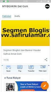aplikasi blogger berwajah baru