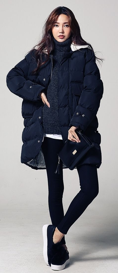 24+ Korean women fashion trends for winter - Fashion 2D