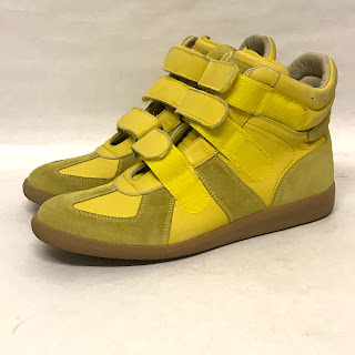 Maison Martin Margiela Replica Yellow Sneakers