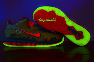 nike lebron 9 low pe lebronold palmer 5 01 Nike LeBron 9 Low LeBronold Palmer Glows in the Dark