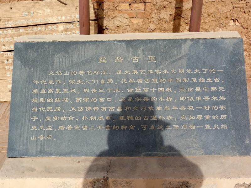XINJIANG.  Turpan. Ancient city of Jiaohe, Flaming Mountains, Karez, Bezelik Thousand Budda caves - P1270976.JPG