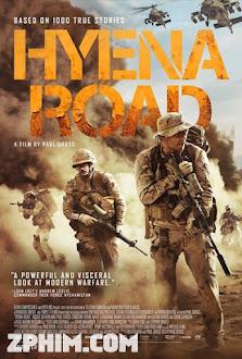 Con Đường Máu Lửa - Hyena Road (2015) Poster
