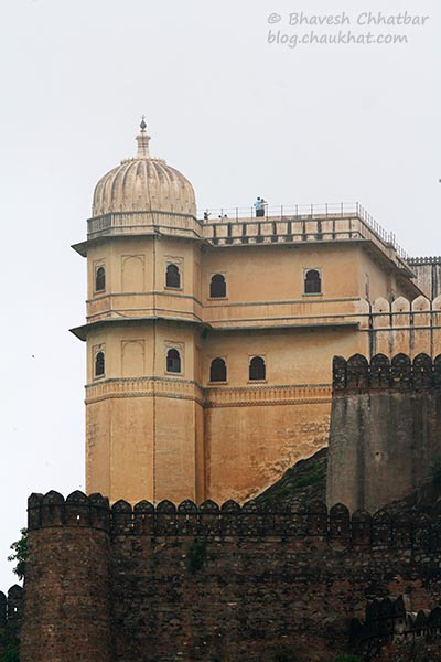 A portion of Kumbhalgarh