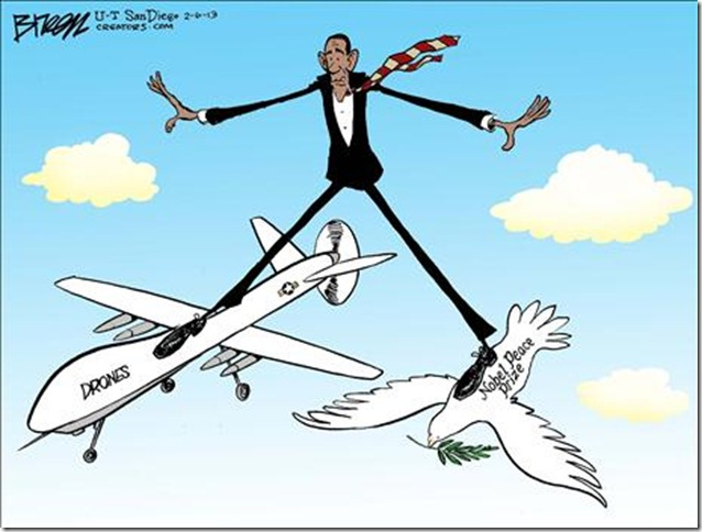 peace prize drones