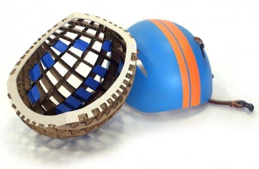 軽くて安全だった ダンボール製の自転車用ヘルメット(Kranium) + monogocoro