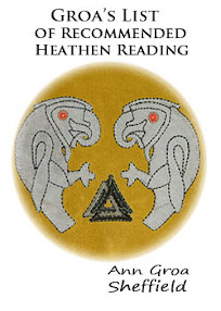 Cover of Ann Groa Sheffield's Book Groa List of Recommended Heathen Reading