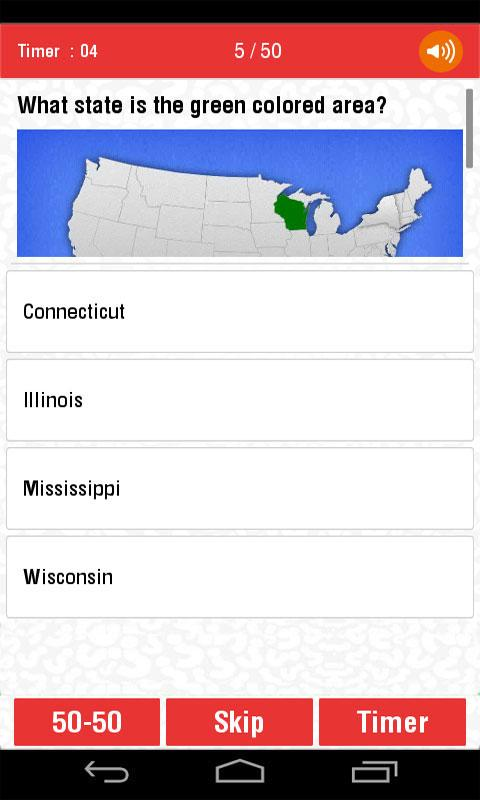 Usa states and capitals quiz android apps on google play usa states and capitals quiz screenshot sciox Choice Image