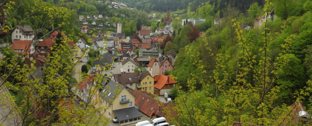 A beautiful Triberg view