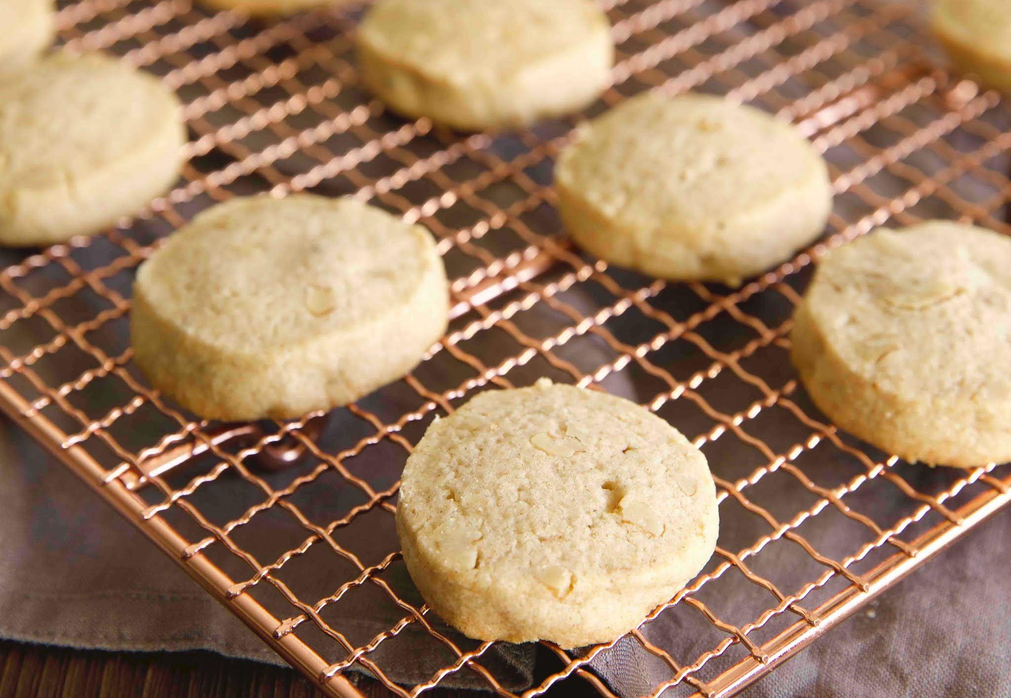 Feinmürbe, schnelle Walnuss-Plätzchen mit Zimt - Rezept von Der Kuchenbäcker | SCCC 2020: Türchen Nr. 21 | Gewinnspiel