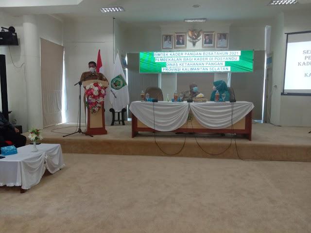 Kader Posyandu di Balangan dibekali Pengatahuan dan Keterampilan Pangan B2SA