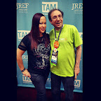 In Vegas the other night with @MitchLampert: Volunteer extraordinaire. #tam13 #tam2015