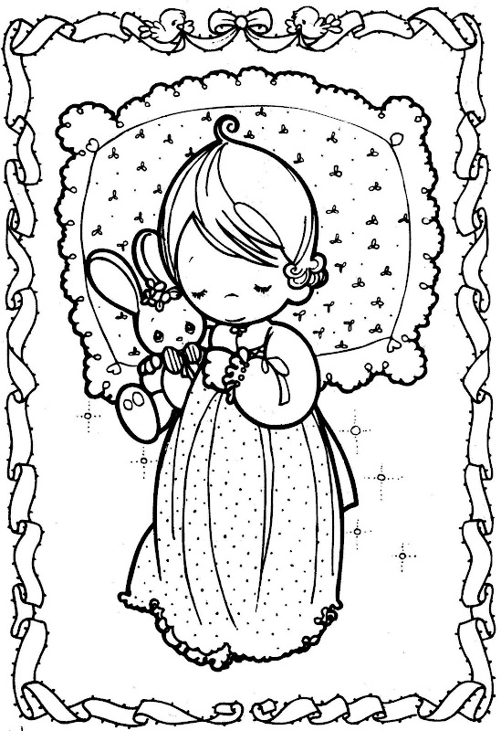 Coloring Pages: Precious moments dreams - coloring books