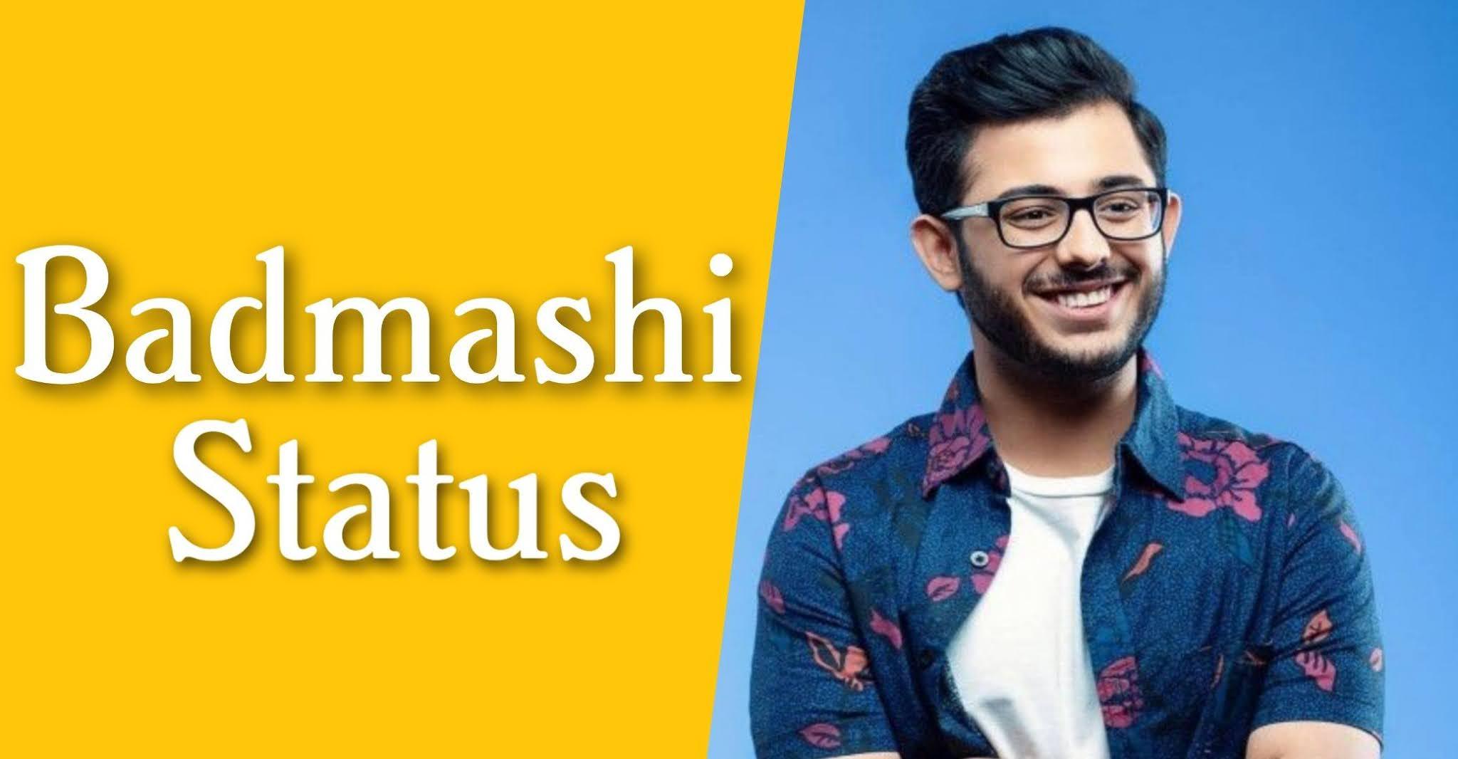 Badmashi Status in Hindi, Attitude Badmashi Status,Hindi Badmashi Status, New Badmashi Status, Haryanavi Badmashi Status