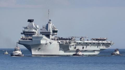 """""""We're at a high state of combat readiness' - China warns UK as its Navy ship, HMS Elizabeth worth £3b approaches South China Sea"""