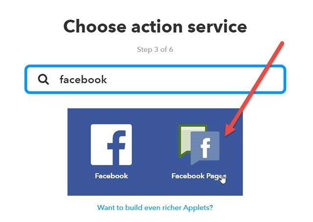 facebook-pages-action-ifttt