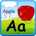 アルファベットのジグソーパズル&フラッシュカード子供のゲーム