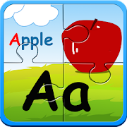Alphabet puzzles & flash cards