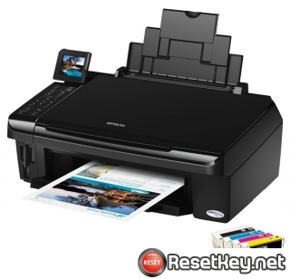 Resetting Epson TX550W printer Waste Ink Pads Counter