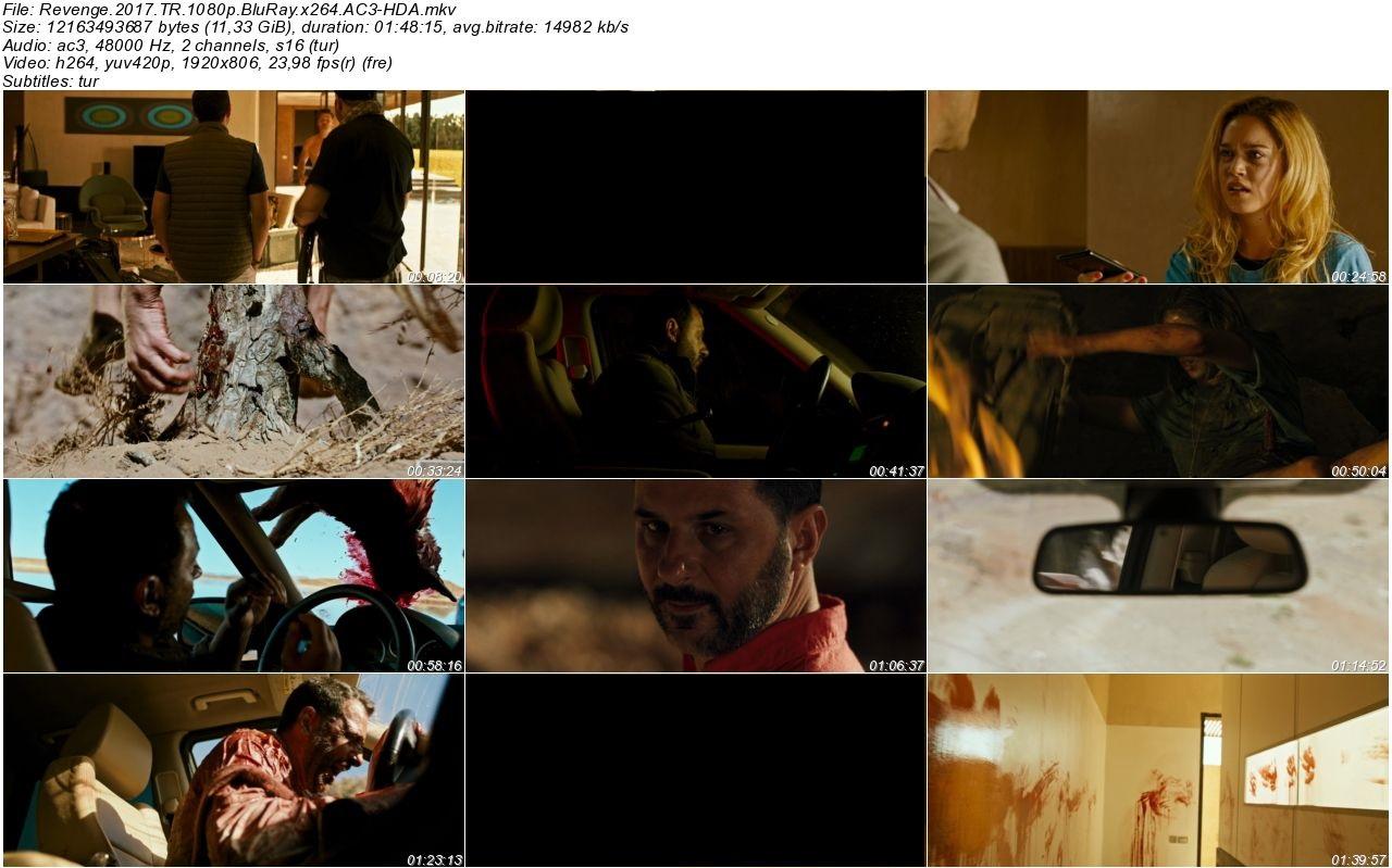 İntikam 2017 - 1080p 720p 480p - Türkçe Dublaj Tek Link indir