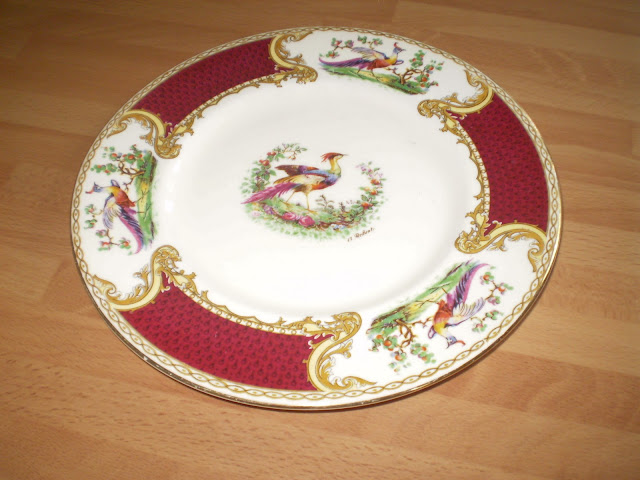 chelsea bird crockery plate