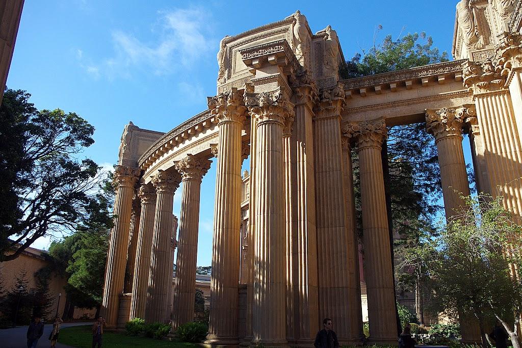 Qué ver en San Francisco. Palacio de Bellas Artes.