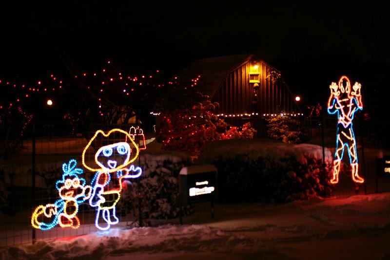 Waterloo Park Christmas Lights 2007 Douglas Stebila