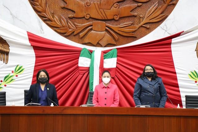 Clausura trabajos Comisión Permanente del Congreso del Estado