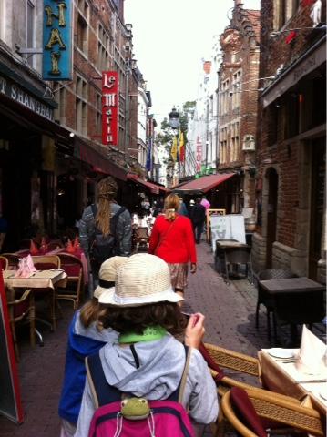 Rue des bouchers Bruxelles