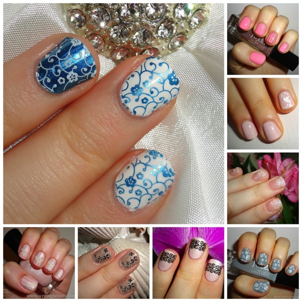8 wedding nail art designs